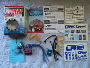VGC BOXED LRP SPHERE BRUSHLESS & BRUSHED ESC - TESTED & WORKING
