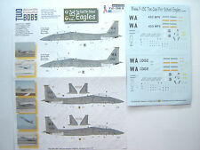 "F-15C EAGLE ""2 USAF/TOO COOL FOR SCHOOL"" TWOBOBS DECALS 1/72"