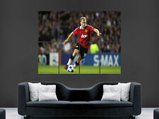 PAUL SCHOLES FOOTBALL LEGEND  GIANT WALL POSTER ART PICTURE PRINT LARGE HUGE