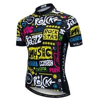 Men Cycling Jersey Top Shirt For Bike Pro MTB Racing Bicycle Mountain Road Sport