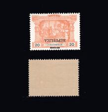 1911 Portugal Porteado MNH OG Af#194. ERROR: INVERTED SURCHARGE.