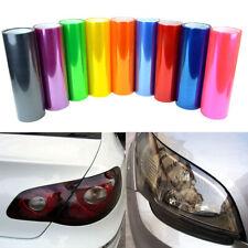 Car Light film Vinyl Wrap Headlight Taillight Transparent  auto