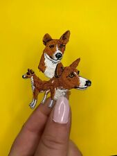Basenji Dog Patch/Applique/Iron on/New unused/Dog Breed Patch
