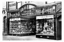 pt9639 - Doncaster , Mellers Dolls Hospital , Hall Gate , Yorkshire - photograph