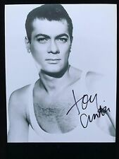 Tony Curtis Autograph - Hand Signed 8x10 Photo - Authentic