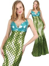 Ladies Little Mermaid Costume Adult Sexy Under the Sea Fancy Dress Book Day New