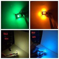 (3) Bajonett LED Lampen/6.3V AC // KA-6100 5700 9100 2002 8300-Zifferblatt Messgerät Vintage