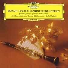 Karl Leister Kubelik Mozart Weber Clarinet Concertos TOWER RECORDS 2014