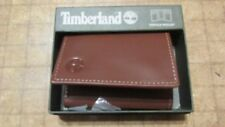 Timberland Wallet Brown  tri fold free shipping new