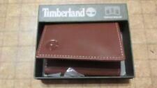 Timberland Wallet Brown Tan tri fold free shipping new