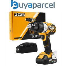 JCB 18BLCD-2X-B 18V Brushless Combi Hammer Drill Metal Chuck 1x 2.0Ah Battery