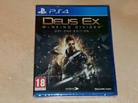 Deus Ex Mankind Divided PS4 Playstation 4 UK Game Day One **BRAND NEW & SEALED**
