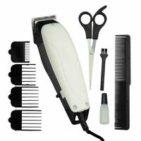 9pc Pet Dog Cat Electric Grooming Cutting Clippers Cutter Hair Shaver Trimmer