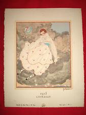 MODE FASHION COUTURE PRET A PORTER Gazette BON TON 1915 N° 8-9 illustré LEPAPE