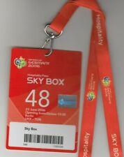 Orig.Ticket  WM Deutschland 2006  UKRAINE - TUNESIEN / Spiel 48 - SKY BOX  !!