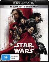 Star Wars The Last Jedi UHD 4K Blu-ray Region B New!