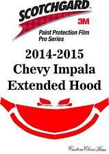 3M Scotchgard Paint Protection Film Pro Serie Pre-Cut Kit 2014 2015 Chevy Impala