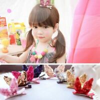 Kids' Fashion Baby Headdress Glitter Hair Clip Sequins Hairpin Rabbit Ear