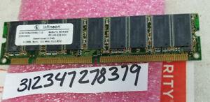512MB 2RX8 SDRAM 133MHZ PC133 CL2 168PIN ECC DUAL RANK NON-REG 32X8