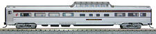 N Budd Passenger Mid-Train Dome Car Canadian Pacific (Silver/Maroon) (1-041360)