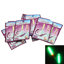 20Pcs 4.5mm Fishing LED Light Night Dark Glow Sticks Fluorescent Rod Float 35M
