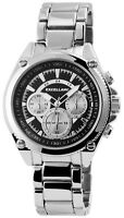 Excellanc Herrenuhr Schwarz Analog Chrono-Look Metall Armbanduhr X2800047001