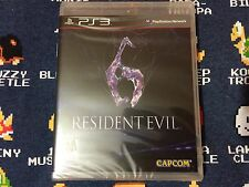 Resident Evil 6 BRAND NEW SEALED  (Sony PlayStation 3, 2012)