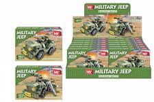 Army Military Jeep Brick Building Set Bricks Kids Fun Christmas Xmas Gift Toy