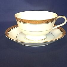 Noritake GOLDRIDGE Footed Cup and Saucer - Japan