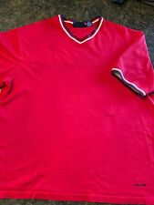 Vtg Structure Thick T Shirt Sz XL. Red White Blue