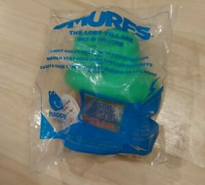 MCDONALDS HAPPY MEAL TOY 2017 SMURFS THE LOST VILLAGE GREEN HOUSE NIP