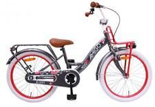 """DKB Kinderfahrrad Mädchen 20"""" Hollandrad Grau Mädchenfahrrad Fahrrad City Bike"""