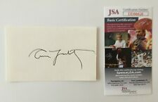 Annie Leibovitz Signed Autographed 3x5 Card JSA Certified Photographer