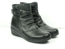 Spring Step Women's Smore Ankle Black Fashion Boots Size EUR 38  US 7.5