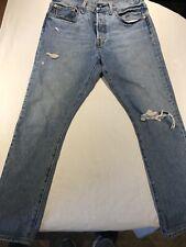 Levi's Big E Men's  501S Skinny Distressed Light Wash Jeans Sz 30/28