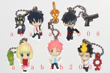 Bandai Blue Exorcist 01 strap figure gashapon (set of five strap figures)