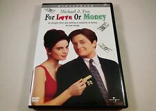 For Love or Money DVD Michael J. Fox, Gabrielle Anwar, Anthony Higgins