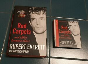 Libro In Inglese + Audiolibro In CD RUPERT EVERETT Red Carpets
