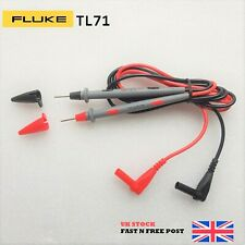 Fluke TL71 10A Hard Point Test Leads Set for Digital Multimeter Meter Probes NEW