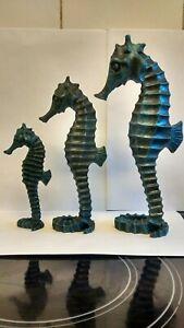 Seahorse Ornaments X 3