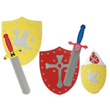 New Foam Sword & Shield Kids Fun Role Play Fun Activity Soft Knight Gift Props