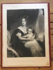 C1860-la madre Inglés, después de Sir Thomas Lawrence.