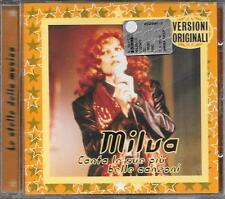"""MILVA - RARO CD FUORI CATALOGO """" CANTA LE SUE PIU' BELLE CANZONI """""""