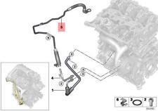 Genuine BMW F45 F46 F48 F49 Turbocharger Coolant Return Line OEM 11537643092