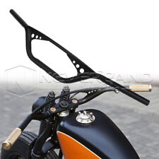 "Motor 1"" Drag Handlebar Z Bars For Harley Fatbob 48 72 Softail Bobber Chopper"