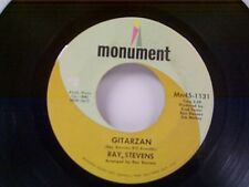 "RAY STEVENS ""GITARZAN / BAGPIPES-THAT'S MY BAG"" 45"