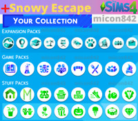 💎 SALE! The Sims 4 ALL Expansions + ALL Game & Stuff packs | +Snowy Escape pack