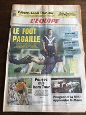Journal l'Equipe - 19 Juin 1991 - 46 eme année - n 140033