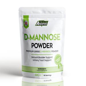 D-Mannose Powder 50g - Scoop Included - Vegetarian & Vegan Friendly