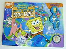 SPONGEBOB SQUAREPANTS BIKINI BOTTOM BOOK OF GAMES WITH MINI FIGURES BOARD GAMES